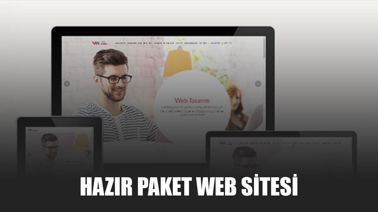 Hazır Paket Web Sitesi